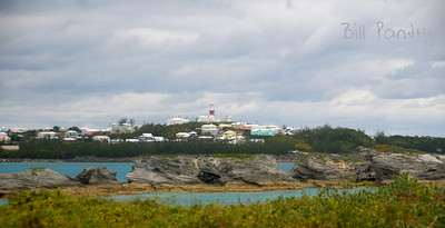 St. David's Lighthouse from Cooper's Island, St. George's Parish, Bermuda