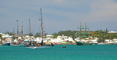 Tallships 2017, predeparture massing in St. George's