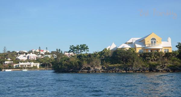 Paget shoreline, Bermuda