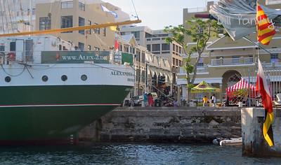 Tallships 2017, massing in Hamilton Harbour, Bermuda