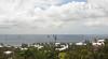 """""""J"""" Boat regatta off South Shore. View from Monk's Bunk, Knapton Hill, Smith's, Bermuda"""