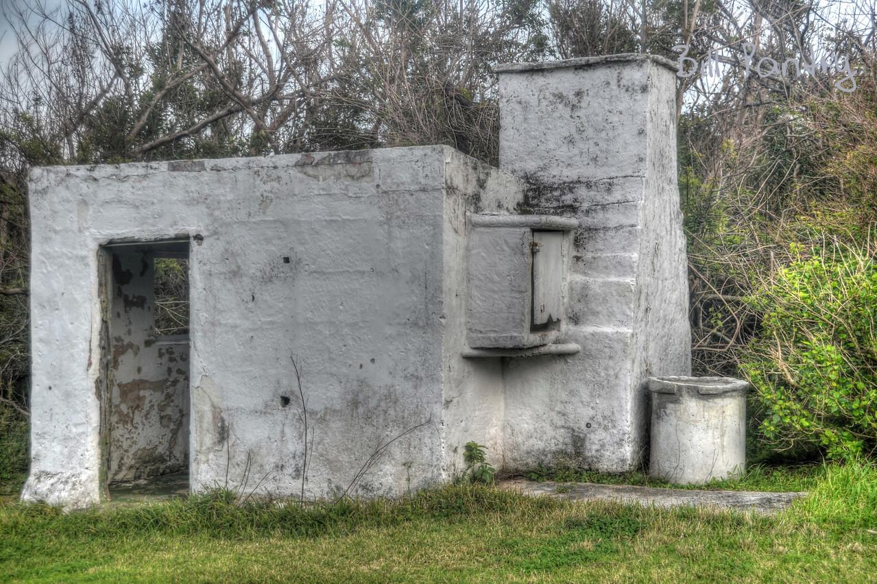 Ruin, Riddell's Bay Golf Course, Warwick, Bermuda