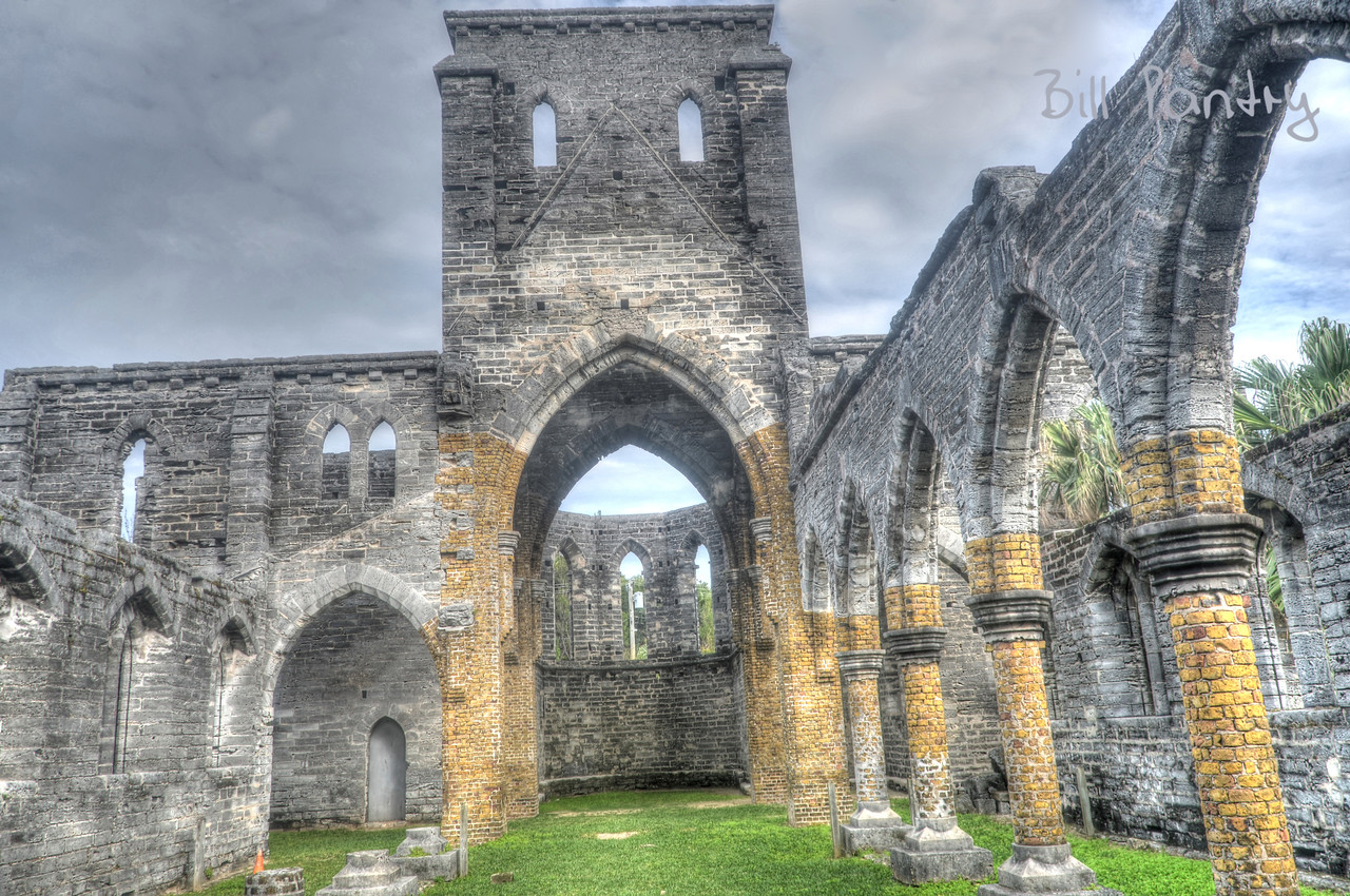 Unfinished Church, Town of St. George, St. Georges Parish, Bermuda