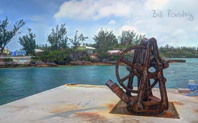 Boaz Island public dock, Sandy's, Bermuda