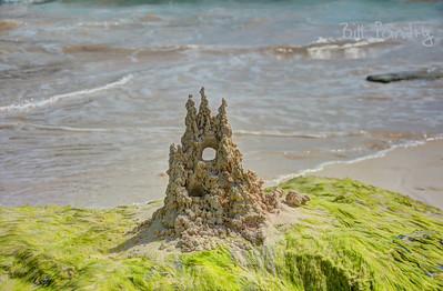 Sand Castle, South Shore Park, Southampton, Bermuda