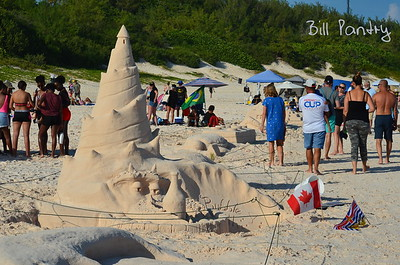 Labor Day Sand Sculpture contest, Horseshoe Bay, Southampton, Bermuda