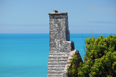 Ruin along the Railway Trail in Hamilton Parish, Bermuda