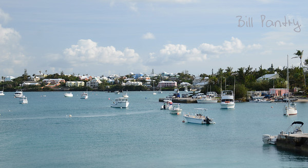 View across Mangrove Bay from Cambridge Beaches, Somerset, Sandys, Bermuda