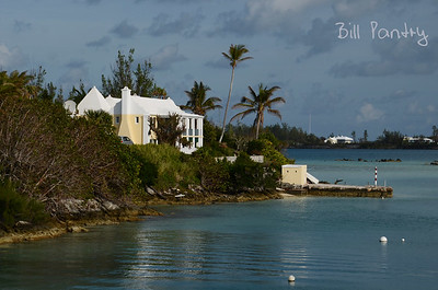 View of Teddy Tucker's house from Cambridge Beaches, Somerset, Sandys, Bermuda