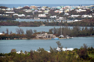 View from Gibb's Hill, Southampton, Bermuda