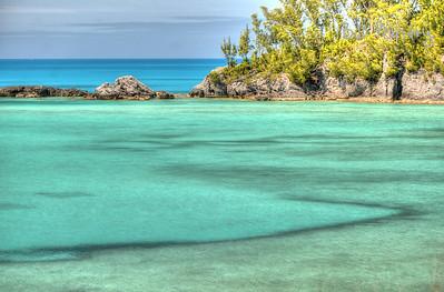 Baileys Bay, along the Railway Trail in Hamilton Parish, Bermuda