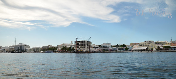 View of Hamilton from the Harbour, Pembroke, Bermuda
