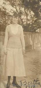 Bertha, 1918