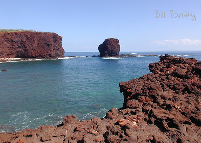 "Puu Pehe ""Sweetheart Rock"", Manele Bay"