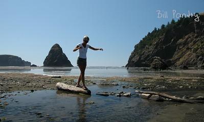 Cathie, Whaleshead Beach, Oregon