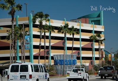 Channelside parking garage, Tampa