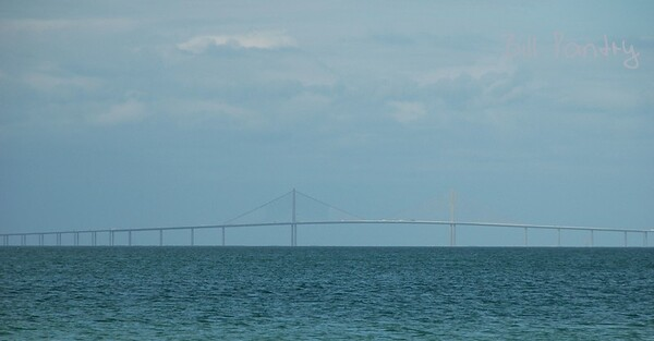 Sunshine Skyway Bridge from Anna Maria