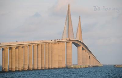 Sunshine Skyway Bridge, North Fishing Pier, Florida