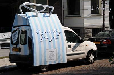 delivery truck, Amsterdam