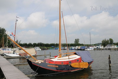 mooring one, outside Elburg