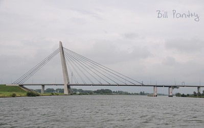 Eilandbrug, outside Kampen, on the water, day two