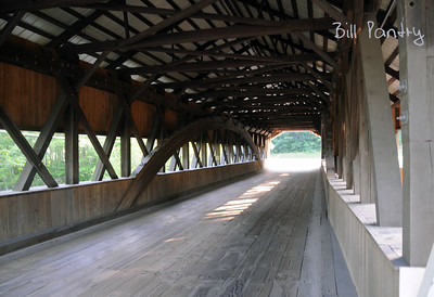 covered bridge, Jackson, New Hampshire