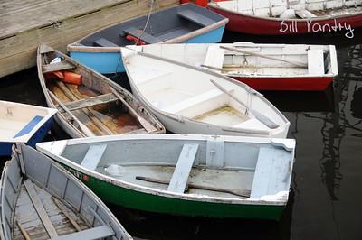 row boats, Winter Harbor, Maine