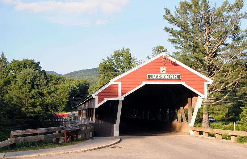 covered bridge, Jackson, New Hampshire