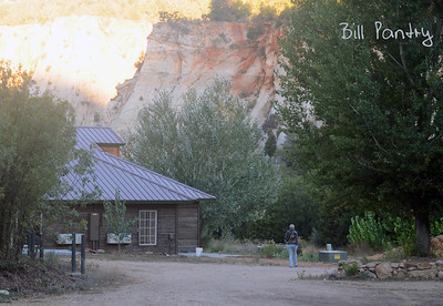 campground, East gate, Zion National Park, Utah