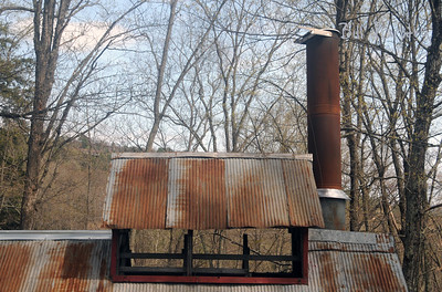 maple sugaring house, Quechee road to Pomfret