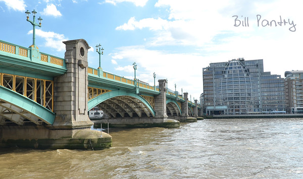 Southwark Bridge, The City of London, England