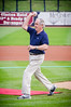 (8.17.2014- Davenport, Iowa) - The Quad City River Bandits v.  Burlington Bees. Burlington won 5-4. Senator Tom Harkin throwing out the first pitch on Tom Harkin bobblehead day.