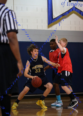 Lourdes Academy vs St James BBall - Mar 2014