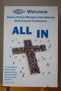 Kairos Prison Ministry Saturday - July 27, 2019