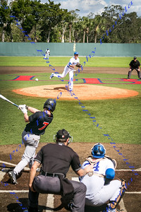 V Oviedo Baseball vs Apopka - Feb 19, 2018