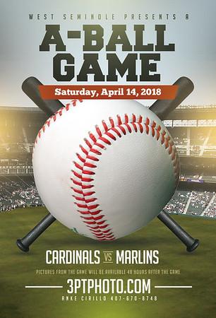 WS Cardinals vs Marlins - 11:00 April 14, 2018