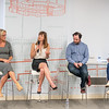L-R: Gina O'Reilly, COO of Nitro, Alison Darcy CEO/Founder of Woebot Labs, Joe Gallagher Head of Data at Reddit, Máire P. Walsh Moderator.