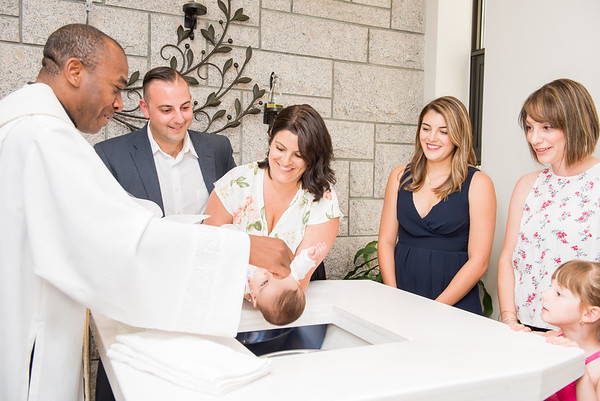 Theo's Baptism