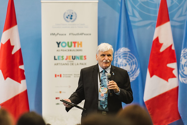 UN Youth as Peacebuilders Town Hall - November 15