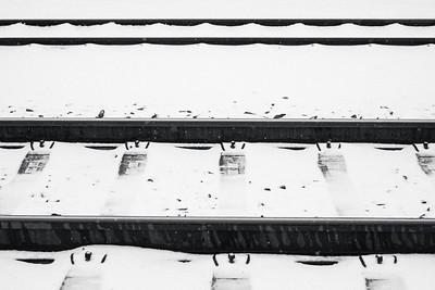 vlakem bílou krajinou
