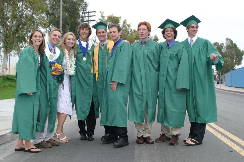 Kiel's Graduation and insuing Parties