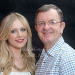 Self Portrait of Me .. ( Chris Mansfield )  with my daughter Marie on her 23rd birthday .