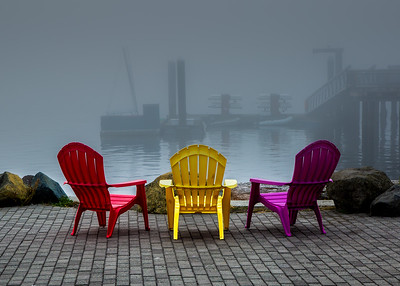 Chairs in the Fog