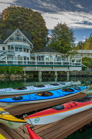 Kyacks at Roche Harbor