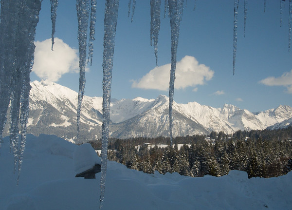 The view from my lunch stop on the Dornach Alm   Oberstdorf, Bayern Germany