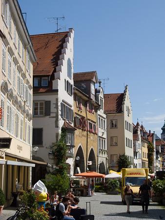 Before we took off, we grabbed a quick lunch in Lindau | Lindau, Bayern Deutschland