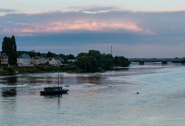 Sunset over the Loire | Saumur, Pays de la Loire, France