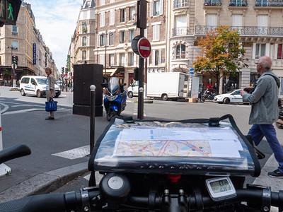 Bike's eye view of Paris | Paris, Île-de-France, France