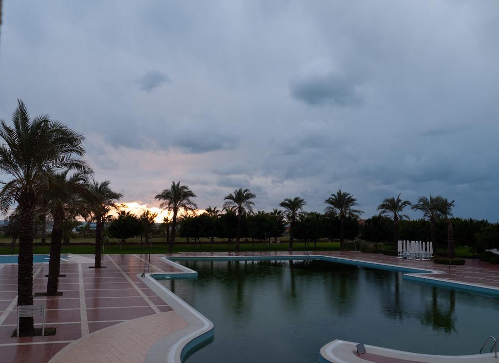 The afternoon turned stormy and dark | Manavgat, Antalya Turkey