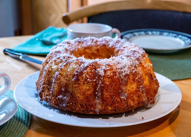 Sponge cake with coconut milk | Augsburg, Bayern Deutschland